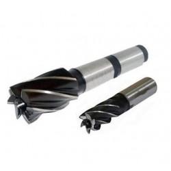 Galinė freza 4mm cilindrinė