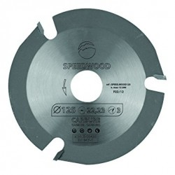Medžio pjovimo diskas 125mm...