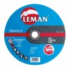 Metalo pjovimo diskas 125x1.0x22,2 Inox Leman