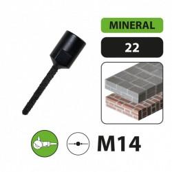 Freza betonui Ø10mm M14 Leman