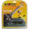 Kabių pistoletas 6-14mm Crownman +600vnt skobų