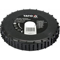 Medžio drožimo diskas YATO