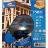 Diskas medžio pjovimui 160x20mm Plonas Leman