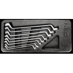Žiedinių raktų rink. 6-22mm...