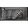 Žiedinių raktų rink. 6-22mm 8vnt. NEO