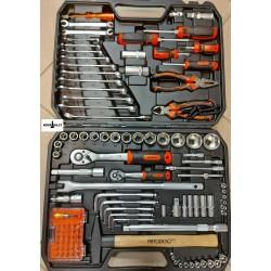 Įrankių rinkinys 110vnt....